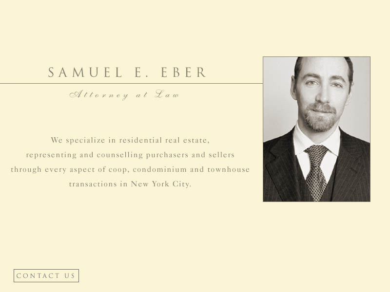 Samuel E. Eber | Attorney at Law